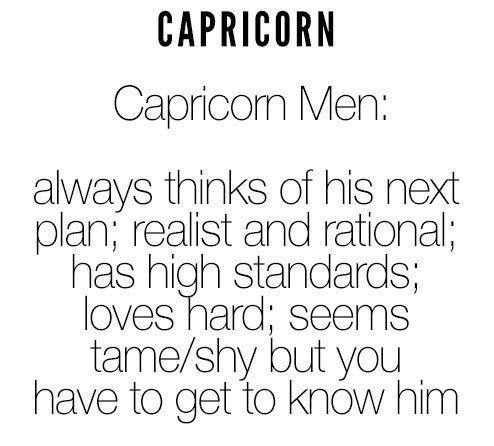 Misses signs a capricorn you man Is Your